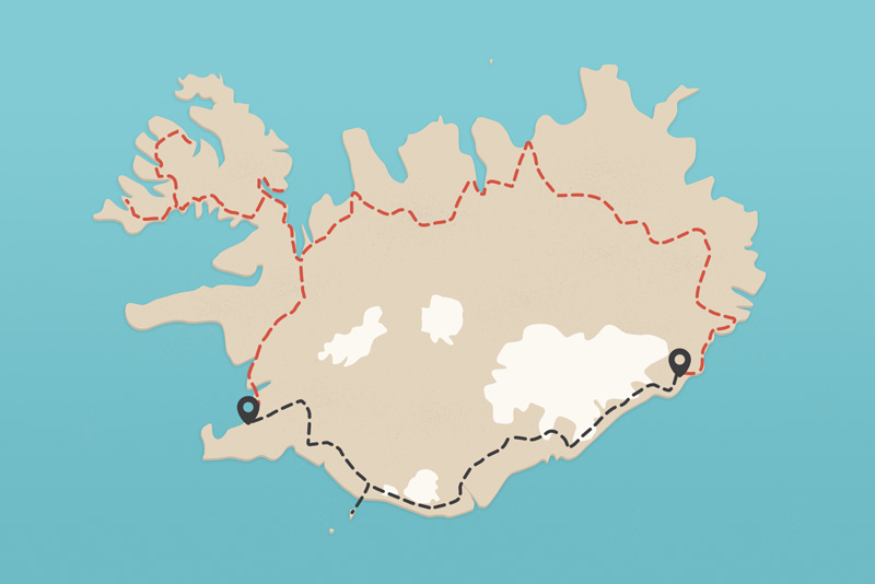 travel itinerary iceland
