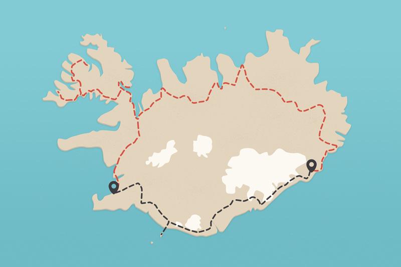 travel itinerary iceland