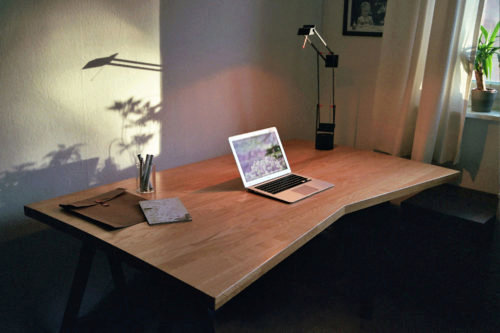 Selfmade Office Desk