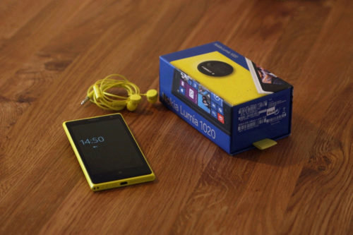 Nokia sent me a Lumia 1020 Developer Device