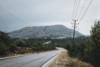 rhodes foggy mountain road