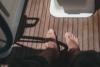 wooden flor on a boat