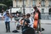 street musicians paris