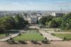 view over paris from sacré-coer