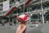 amorino ice cream at centre pompidou