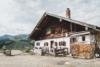old farmhouse in the bavarian alps