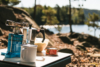 camping cooker stove lake sweden